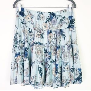 NWOT Beltaine Floral Tiered Skirt